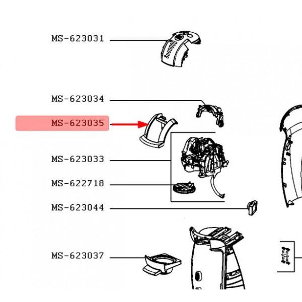 POIGNEE POUR PETIT ELECTROMENAGER   KRUPS MS-623035
