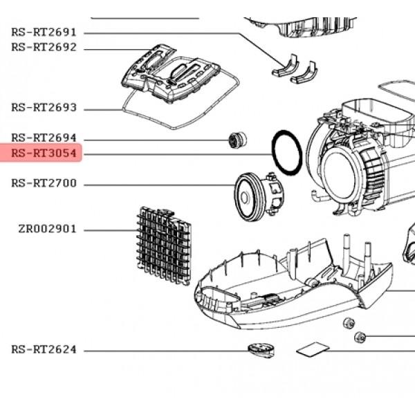 joint moteur d 100mm rowenta r u00e9f u00e9rence rs