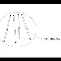 Kit de 4 pieds réglables 5010002157