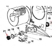 Turbine moteur (repère 21)