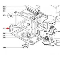 Protecteur d'ondes (repère 227)