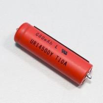 Batterie Li-ion UR14500Y pour rasoir Braun