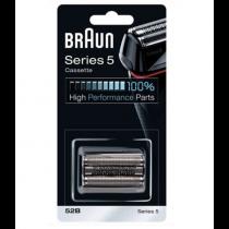 Cassette de rasage Braun 52B noire