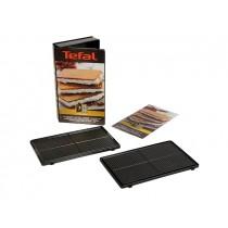 Lot de deux plaques gaufrettes Tefal XA800512