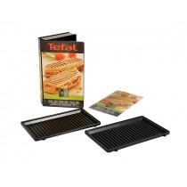 Lot deux plaques grill panini Tefal XA800312