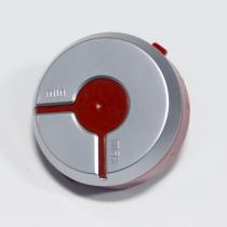 Bouton variateur rouge / gris