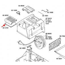 Filtre protection moteur (rep. 05 4781)