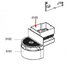 Récipient capsules (repère 0103)