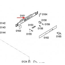 Bandeau de commande (repère 0161)