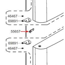 Charnière centrale (repère 55657)