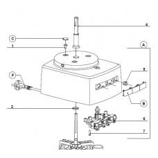 Capot moteur blanc (repère A)