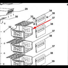 Tiroir supérieur sans façade (repère_37)