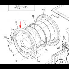 Cadre intérieur de hublot (repère 12)
