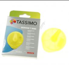 T-Disc Disque de nettoyage jaune pour Tassimo