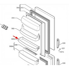 Balconnet intermédiaire (repère 302A)