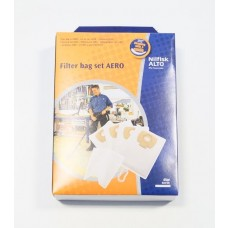 4 sacs aspirateur Nilfisk Aero + filtre
