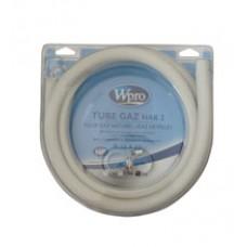 TUYAU GAZ NATUREL 5ANS+COLLIER 1.5M