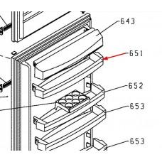 Balconnet supérieur (repère 651)