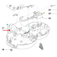 Carte électronique (repère 17)