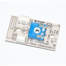 Platine avec thermostat