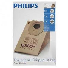 6 Sacs aspirateur OSLO HR6938