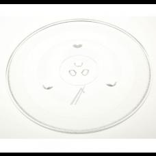 Plateau en verre D.31.5cm pour micro-ondes