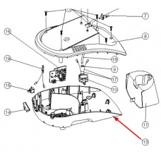 Boitier inférieur (repère 13)