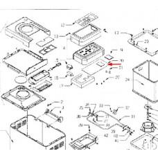 Carte électronique QD786A (repère 20)