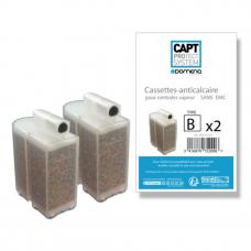 2 cassettes anticalcaire Type B non EMC