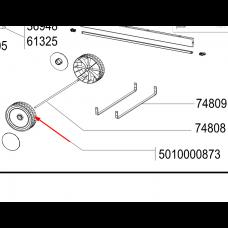 1 x Roue de chariot D.160mm