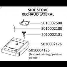 Kit de 2 boutons pour réchaud 5010002176