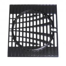 Grille de cuisson en fonte émaillée brillante (cadre + cercle)