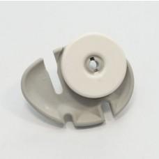 Roulette gauche panier inferieur diam 40mm