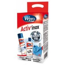 KIT INOX ACTIV'INOX CREME + POLISH INOX + CHIFFON - WPRO