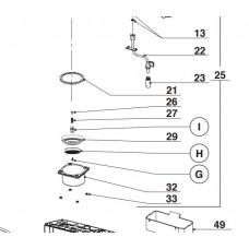 Rondelle plastique (repère 33)