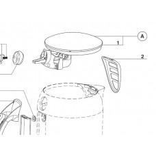 Couvercle inox (repère A)