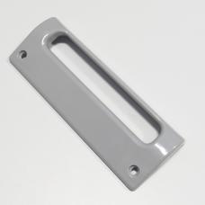 Poignée de porte grise entraxe 17.4cm