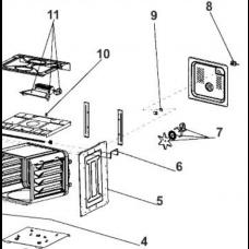 Ventilateur avec hélice (repère 7)