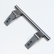 Poignée de porte inox entraxe 155mm