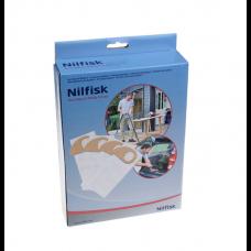 4 sacs aspirateur Nilfisk Buddy II