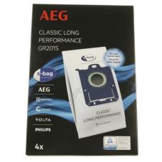 4 sacs aspirateur GR201S classic long performance