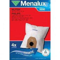 4 sacs aspirateur Menalux 3200