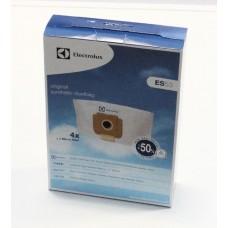 4 sacs aspirateur ES53 + 1 microfiltre