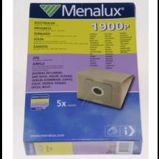 5 sacs aspirateur Menalux 1900P