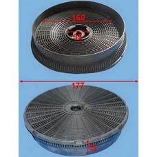 Filtre charbon diam 170mm
