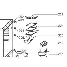 1 x Clayette de réfrigérateur (repère 221)