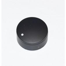 Bouton noir diamètre 32mm