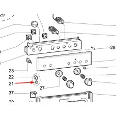 Bouton interrupteur allumage (repère 21)