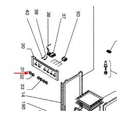 Bouton thermostat four (repère 31)