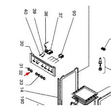 Bouton sélecteur four (repère 32)